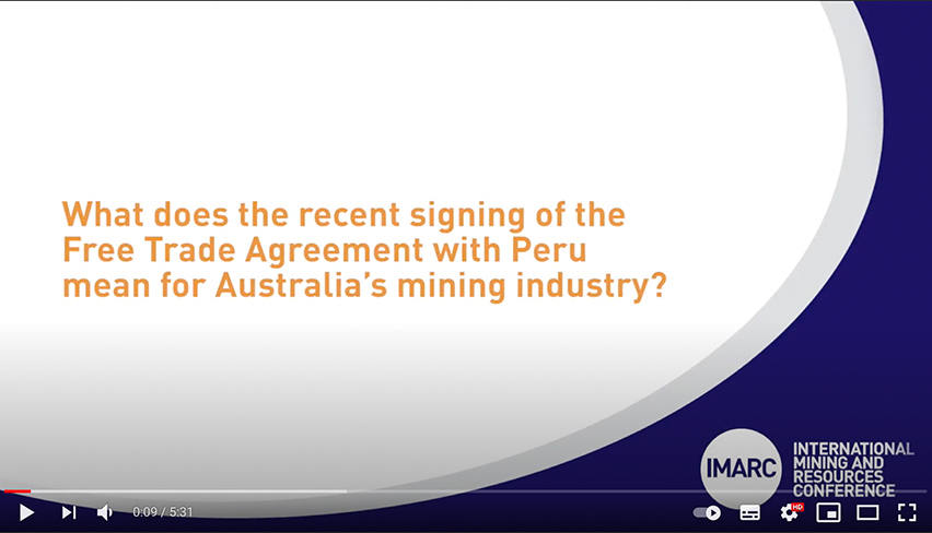 What does the Free Trade Agreement with Peru mean for Australia's mining industry? Austrade